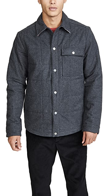 Portuguese Flannel Nevada Quilted Shirt Jacket