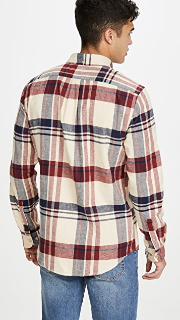 Portuguese Flannel Coachella Plaid Button Down Flannel Shirt
