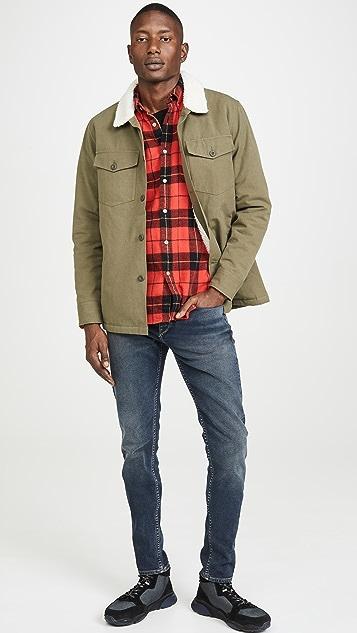 Portuguese Flannel Colorado Plaid Flannel Button Down Shirt