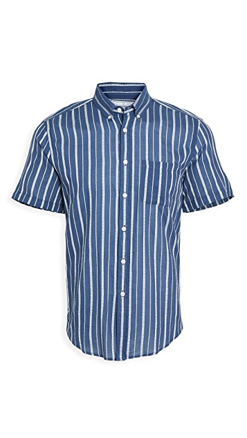 Portuguese Flannel Jimmy Short Sleeve Button Down Shirt