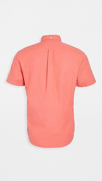 Portuguese Flannel Soup Short Sleeve Button Down Shirt
