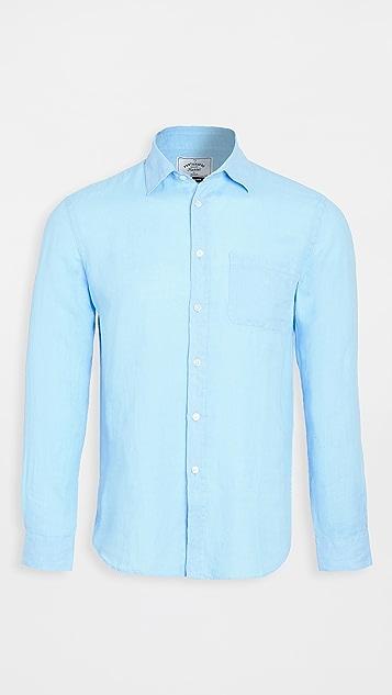 Portuguese Flannel Linen Long Sleeve Shirt
