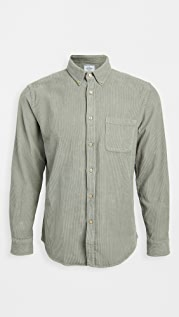 Portuguese Flannel Lobo Corduroy Button Down Shirt
