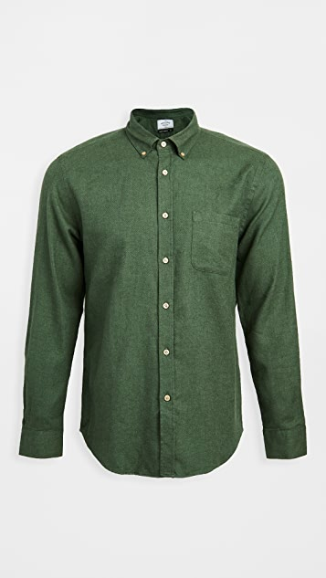 Portuguese Flannel Teca Brushed Flannel Button Down Shirt