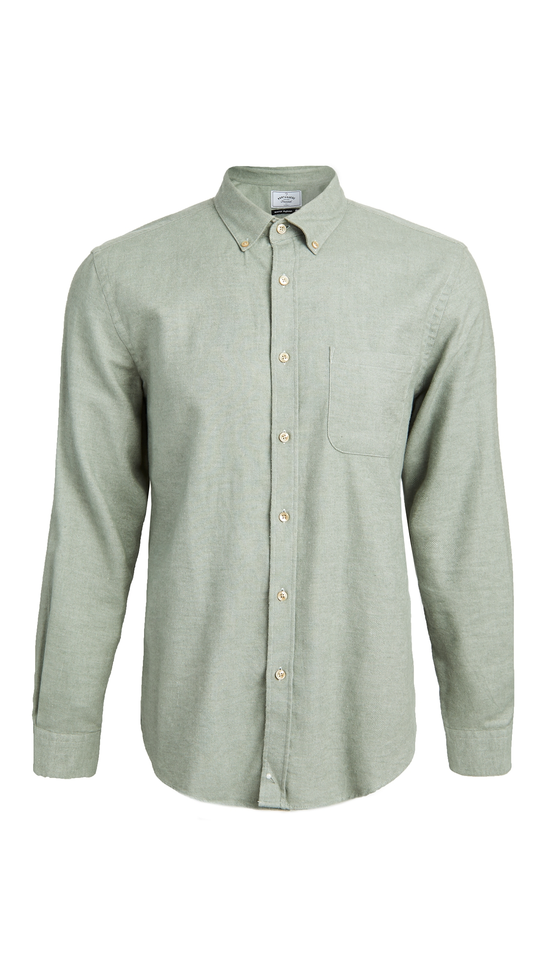 Teca Brushed Flannel Button Down Shirt