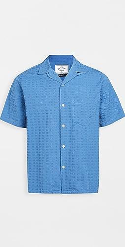 Portuguese Flannel - Square Seersucker Short Sleeve Shirt
