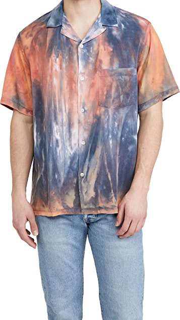 Portuguese Flannel Messy Dogtown Short Sleeve Shirt