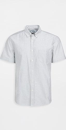 Portuguese Flannel - Belavista Stripe Short Sleeve Shirt