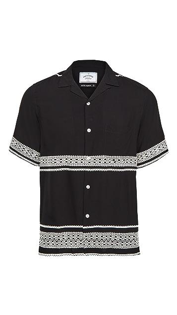 Portuguese Flannel Folclore Short Sleeve Shirt