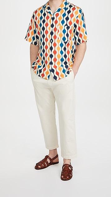 Portuguese Flannel Drop Short Sleeve Shirt
