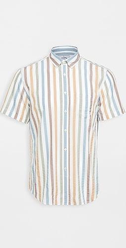 Portuguese Flannel - Watercolor Short Sleeve Shirt