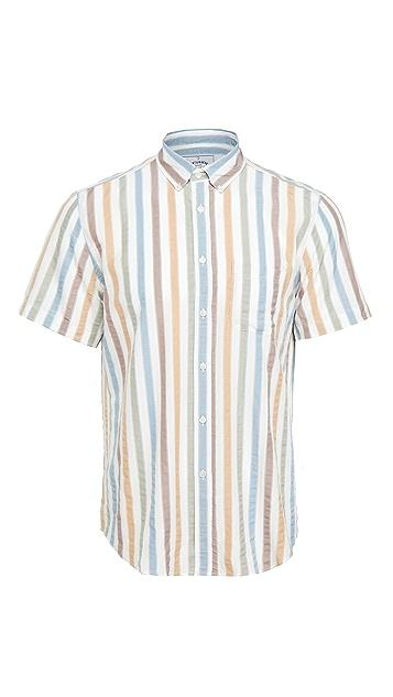 Portuguese Flannel Watercolor Short Sleeve Shirt