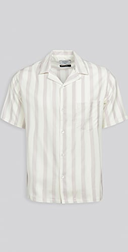 Portuguese Flannel - Pastel Crepe Short Sleeve Shirt