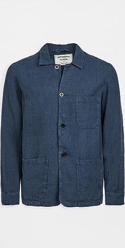 Portuguese Flannel - Labura Linen Chore Coat