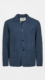 Portuguese Flannel Labura Linen Chore Coat