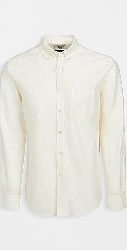 Portuguese Flannel - Belavista Stripe Long Sleeve Shirt