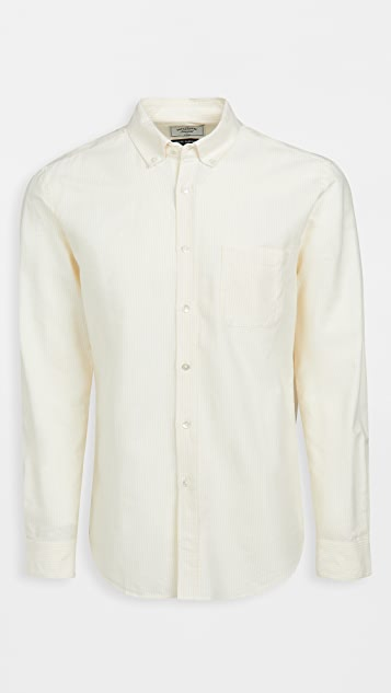 Portuguese Flannel Belavista Stripe Long Sleeve Shirt