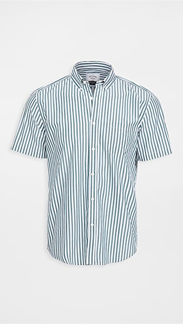Portuguese Flannel Poplin Short Sleeve Shirt