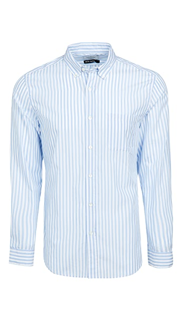 Portuguese Flannel Poplin Long Sleeve Shirt