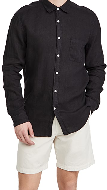 Portuguese Flannel Linen Long Sleeve Shirt