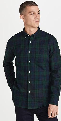 Portuguese Flannel - Bonfim Blackwatch Button Down Shirt
