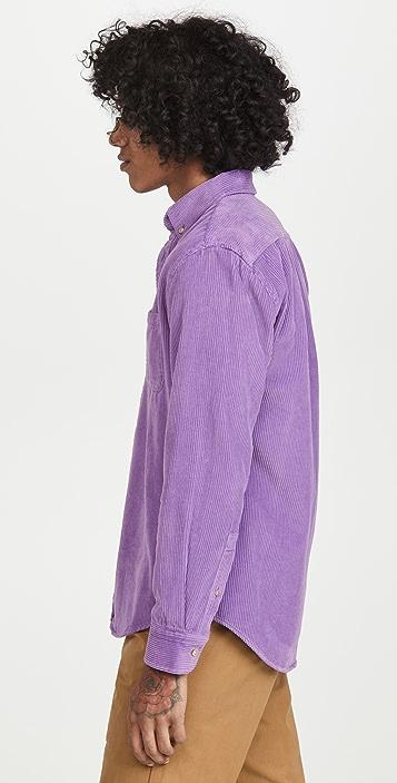 Portuguese Flannel Lobo Corduroy Button Down Shirt