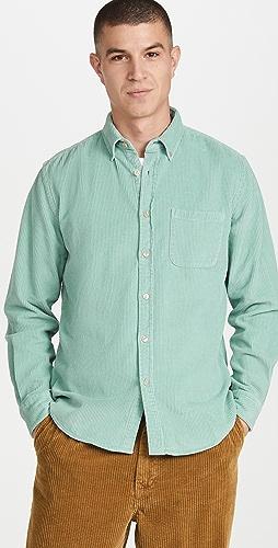 Portuguese Flannel - Lobo Corduroy Button Down Shirt