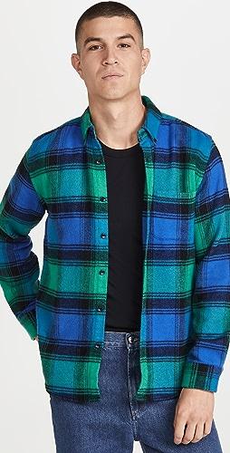 Portuguese Flannel - Bright Plaid Flannel Button Down Shirt