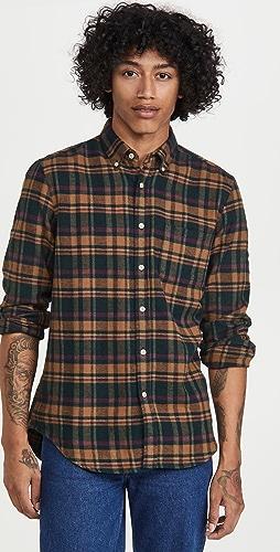 Portuguese Flannel - Woods Plaid Flannel Button Down Shirt