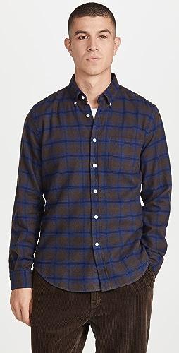 Portuguese Flannel - High Vis Plaid Flannel Button Down Shirt