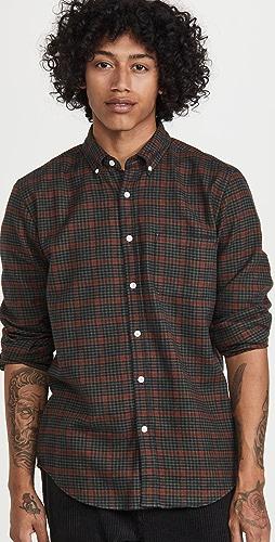 Portuguese Flannel - Coimbra Plaid Flannel Button Down Shirt