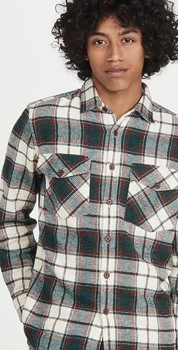 Portuguese Flannel Saint Patrick Field Shirt Jacket