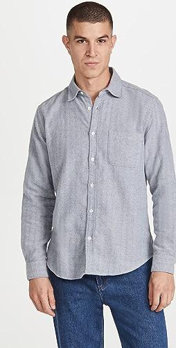 Portuguese Flannel - Espiga Brushed Flannel Shirt
