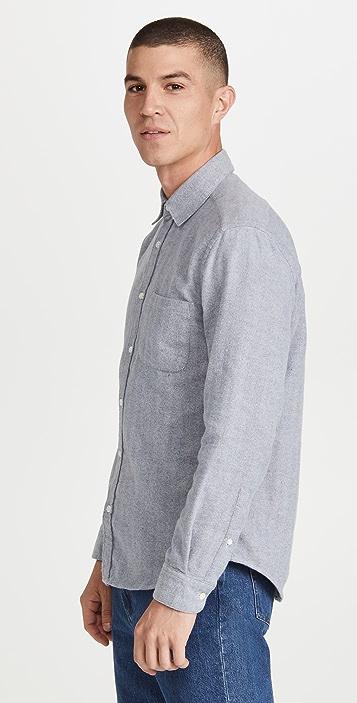 Portuguese Flannel Espiga Brushed Flannel Shirt
