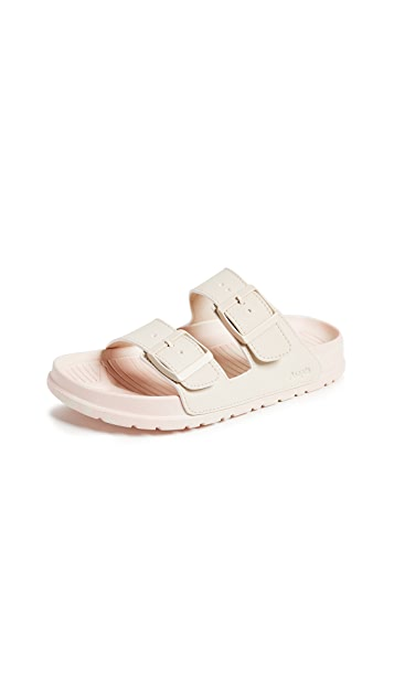 People Footwear Lennon Buckle Slides