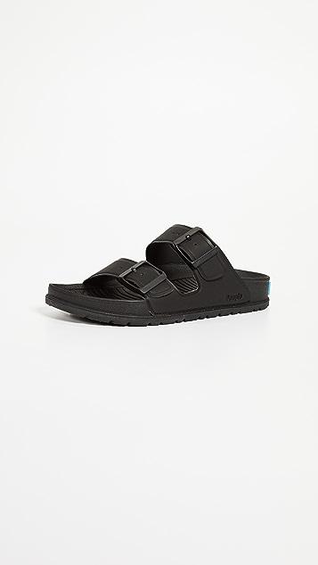 People Footwear Lennon Buckle Slides