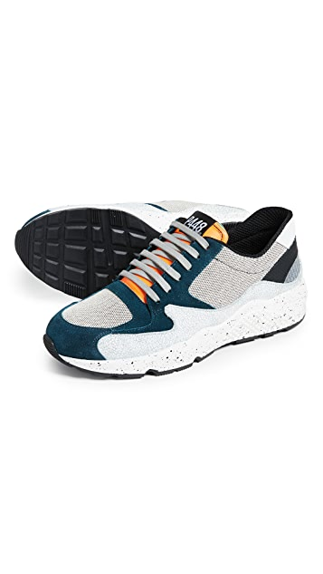 P448 Mixed Runner Sneakers