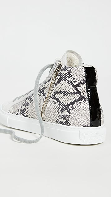 P448 Star High Top Sneakers