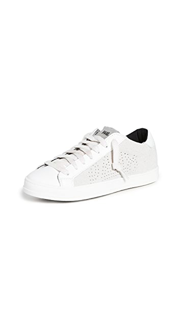 P448 John W Lace Up Sneakers