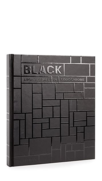 Phaidon Black: Architecture in Monochrome