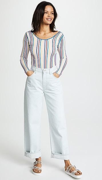 PH5 Bluebell Rib Bodysuit