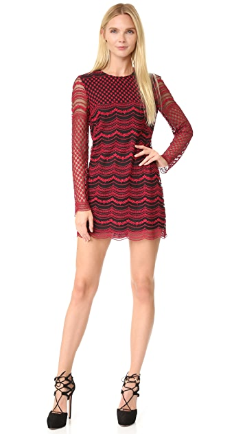 Philosophy di Lorenzo Serafini Long Sleeve Dress