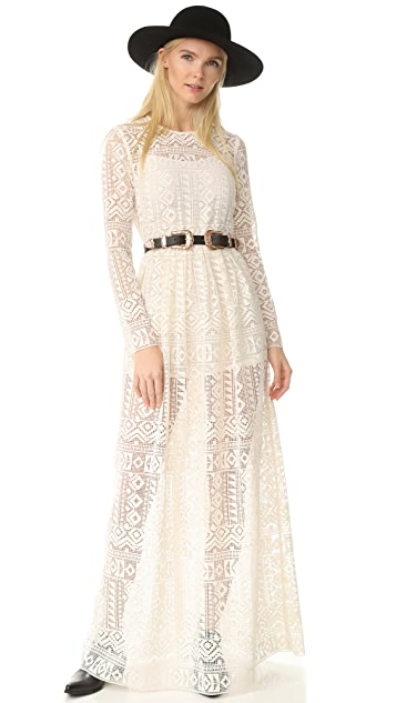 Philosophy di Lorenzo Serafini Sleeved Long Dress