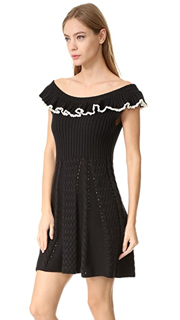 Philosophy di Lorenzo Serafini Cap Sleeve Dress