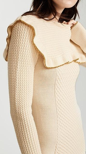 Philosophy di Lorenzo Serafini Ruffle Dress
