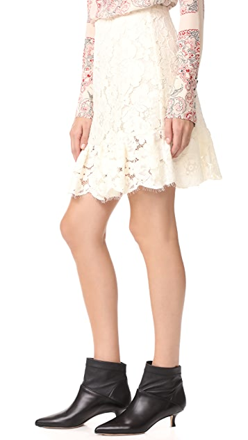 Philosophy di Lorenzo Serafini Mini Lace Skirt
