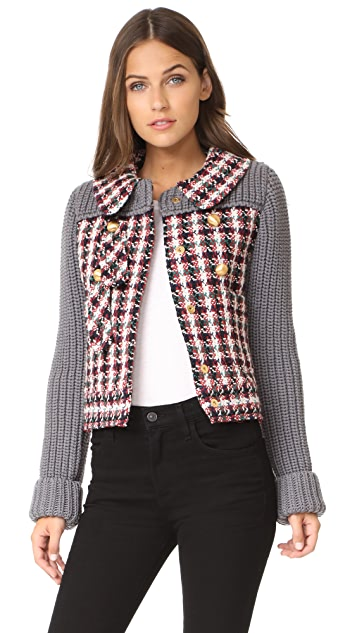 Philosophy di Lorenzo Serafini Tweed Jacket