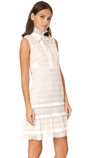 Philosophy di Lorenzo Serafini Sleeveless Ruffle Dress