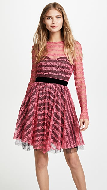 Philosophy di Lorenzo Serafini Long Sleeve Lace Dress