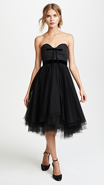 Philosophy di Lorenzo Serafini Strapless Tulle Dress